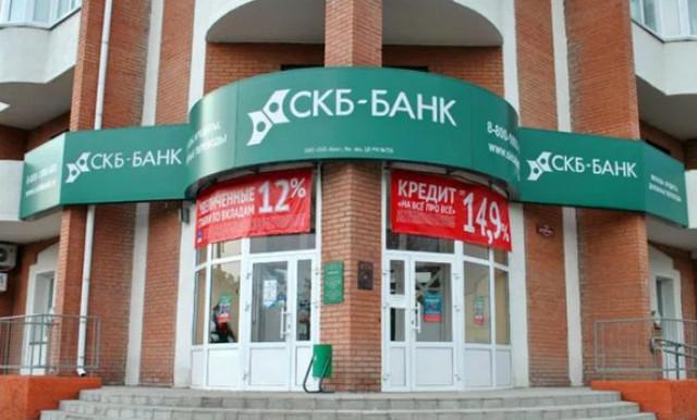 Вывеска СКБ банка