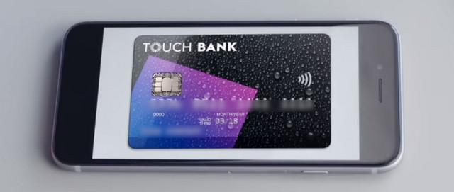 Активация карты Тач банка через телефон