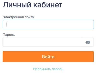Форма входа в личный кабинет онлайн займов Езаем