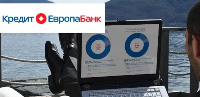 Возможности онлайн обслуживания в Кредит Европа банке