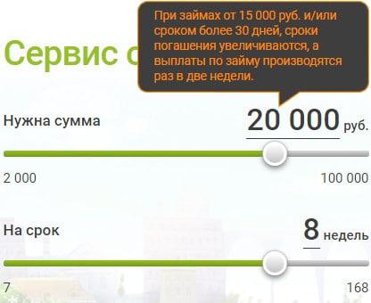 Лайм займ больше 15000 рублей